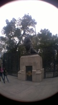La entrada de Chapultepec