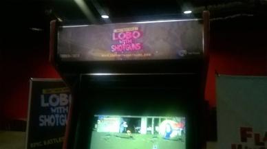 otro excelente juego en exposición, LOBO WITH SHOTGUNS
