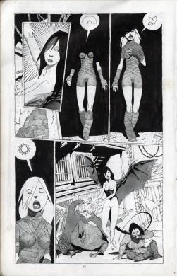 "El TRaje alterno de Kitty Satana esta basado en el comic ""Enter Kitty Satana"""